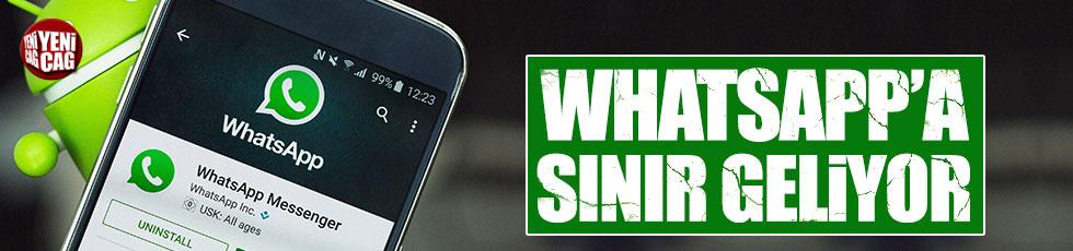 WhatsApp'a yaş sınırlaması geliyor iddiası