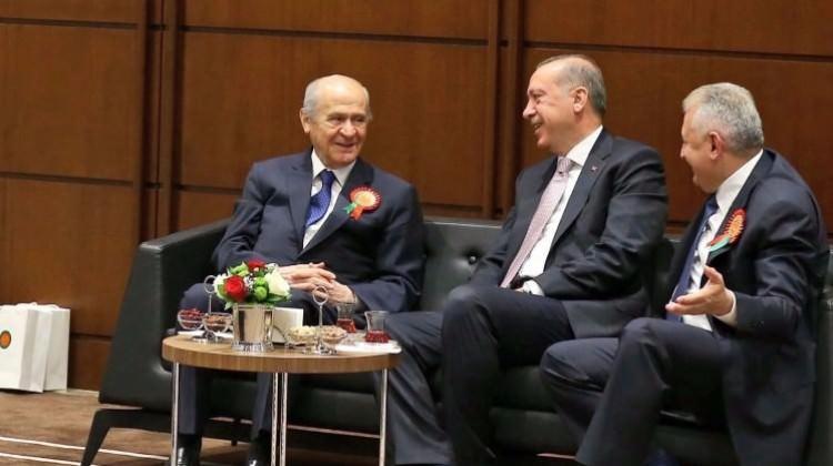 Gözler Erdoğan-Bahçeli görüşmesinde