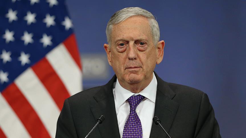 Mattis'ten Suriye ile ilgili yeni açıklama