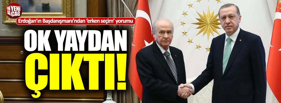 """Erdoğan'ın Başdanışmanı Çevik: """"Ok yaydan çıktı"""""""