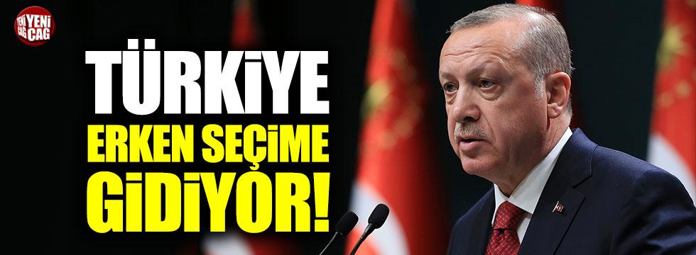 Türkiye erken seçimlere gidiyor… Erdoğan açıkladı
