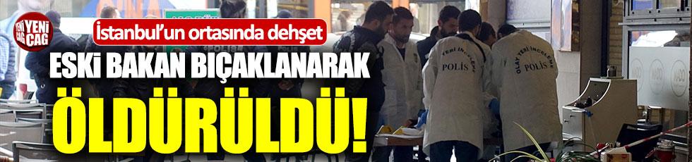 Eski Milli Savunma Bakanı Ercan Vuralhan öldürüldü