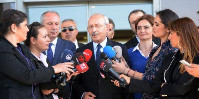 """Kılıçdaroğlu: """"Cumhurbaşkanı adayını pati belirler"""""""
