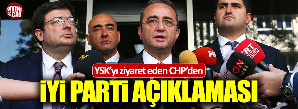 YSK'yı ziyaret eden CHP'den İYİ Parti açıklaması