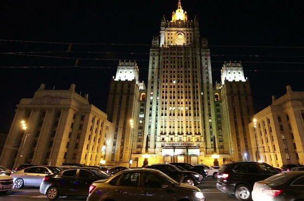 Rusya Dışişleri Bakanlığı boşaltıldı