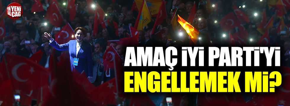 "Akif Beki: ""Amaç İYİ Parti'yi engellemek mi?"""