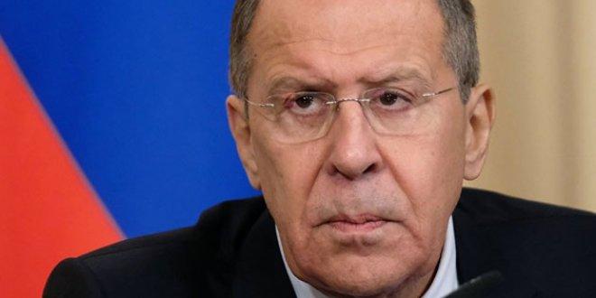 """Lavrov: """"ABD, Türkiye'ye şantaj yapıyor"""""""