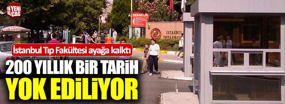 İstanbul Tıp Fakültesi öğrencilerinden büyük tepki