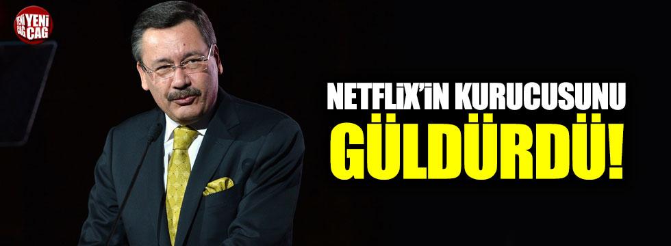 Melih Gökçek, Netflix'in kurucusunu güldürdü