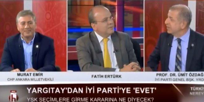 Ümit Özdağ'dan AKP'li Elitaş'a yanıt geldi!