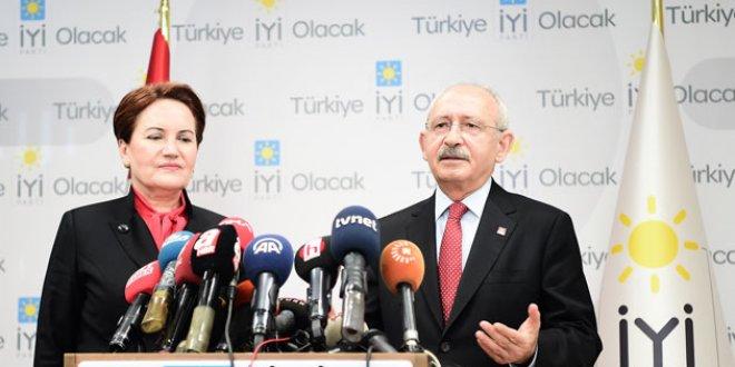Akşener ile Kılıçdaroğlu'ndan sürpriz görüşme
