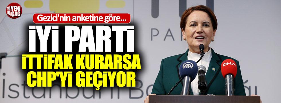 """Gezici: """"İYİ Parti ittifakı CHP'yi geçiyor"""""""