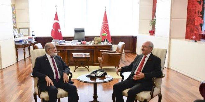 Kılıçdaroğlu-Karamollaoğlu görüşmesi