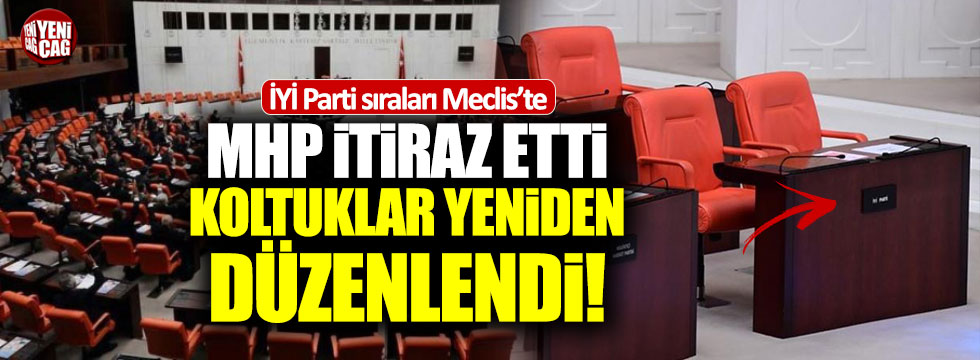 MHP'den Meclis'te koltuk tartışması