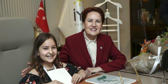 9 yaşındaki Beren'den Atatürk mesajı