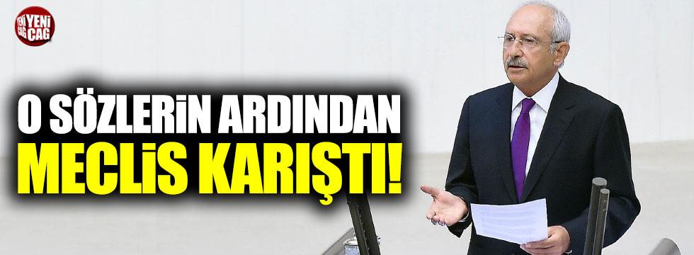 Kılıçdaroğlu konuştu Meclis karıştı