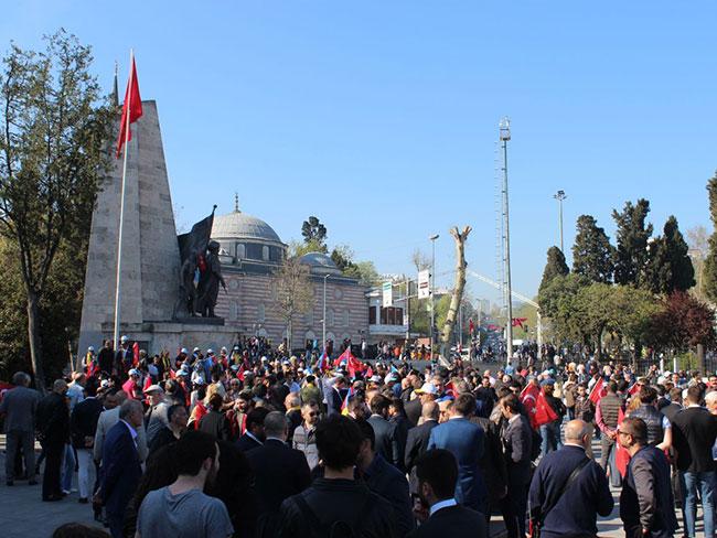 İYİ Gençlik İstanbul sahaya indi