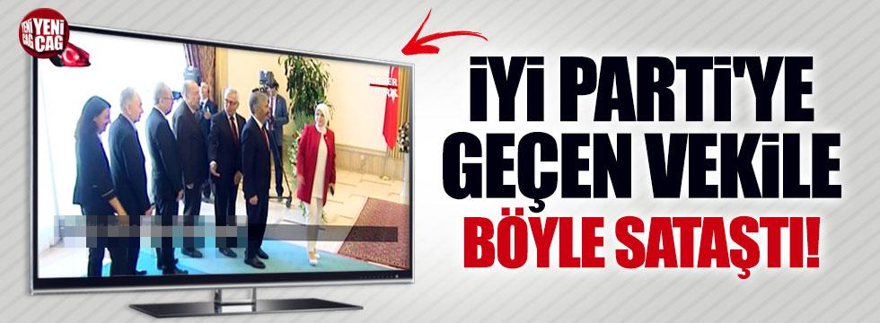 AKP'li vekil, İYİ Parti'ye geçen vekile böyle sataştı