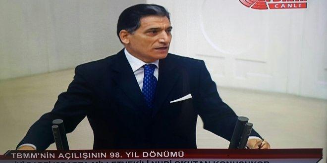 İYİ Parti Meclis'te... Nuri Okutan'dan ilk sözler