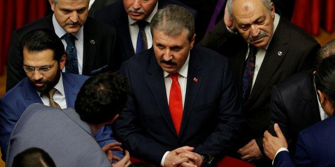 BBP lideri Destici'den CHP ve İYİ Parti'ye ağır sözler