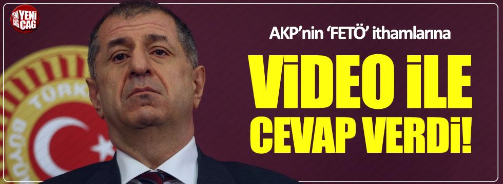 Ümit Özdağ'dan AKP'nin 'FETÖ' ithamlarına videolu cevap