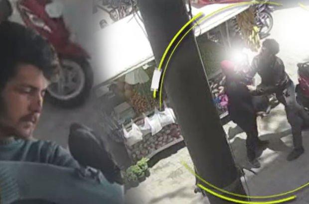 Hamile kadını sokak ortasında öldüresiye dövdü