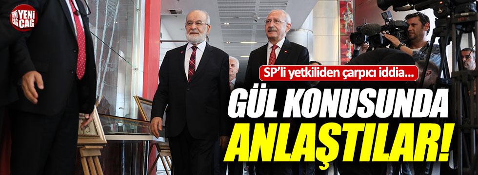 CHP ve SP Gül'de anlaştı