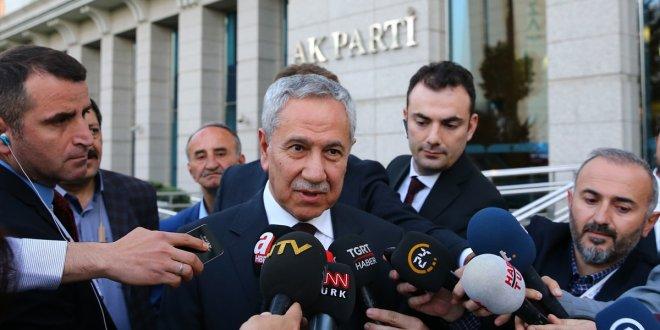 Erdoğan ile Arınç görüşmesinin ardından ilk açıklama