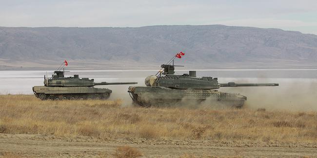 Altay tankı için görüşmelere başlandı
