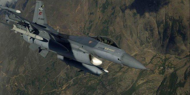 Irak'ın kuzeyinde hedefler vuruldu