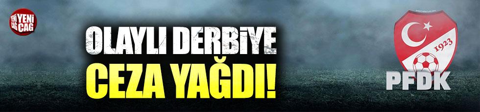 PFDK'dan Fenerbahçe'ye ceza yağdı!