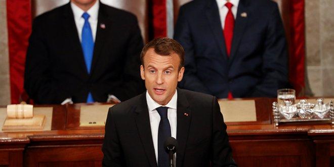 Macron'dan Trump'a eleştiri
