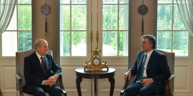 Bahçeli'den Abdullah Gül'e uyarı