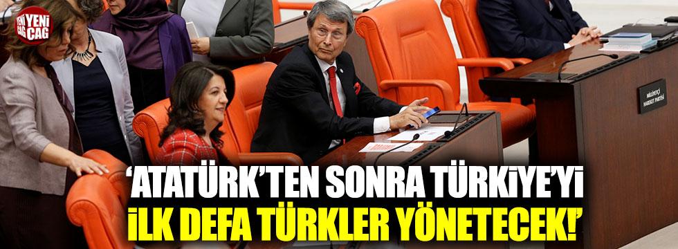 """Halaçoğlu: """"Atatürk'ten sonra Türkiye'yi ilk defa Türkler yönetecek"""""""