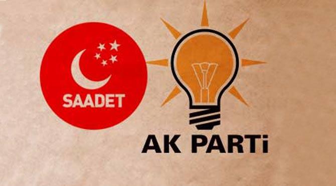 AKP'den Saadet Partisi'ne ilk engelleme