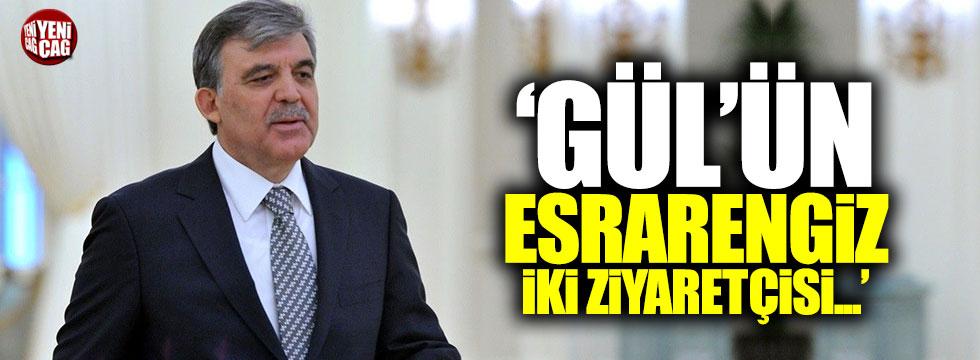 """Deniz Zeyrek: """"Gül'ün esrarengiz iki ziyaretçisi..."""""""