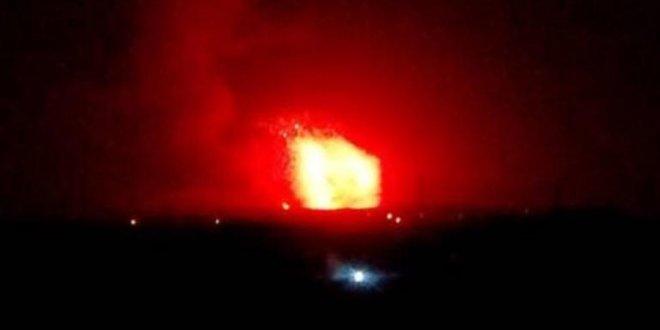 Suriye'de askeri üslere füze saldırısı