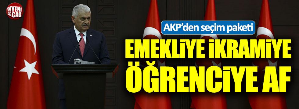 AKP'den seçim paketi!
