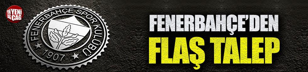 Fenerbahçe, TFF'den talepte bulundu