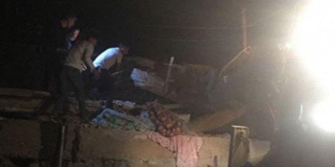 Şırnak'ta ev çöktü: 2 ölü 11 yaralı