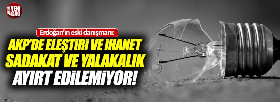 """Yeni Şafak yazarı: """"AKP'den sadakat ve yakalık ayırt edilemiyor"""""""