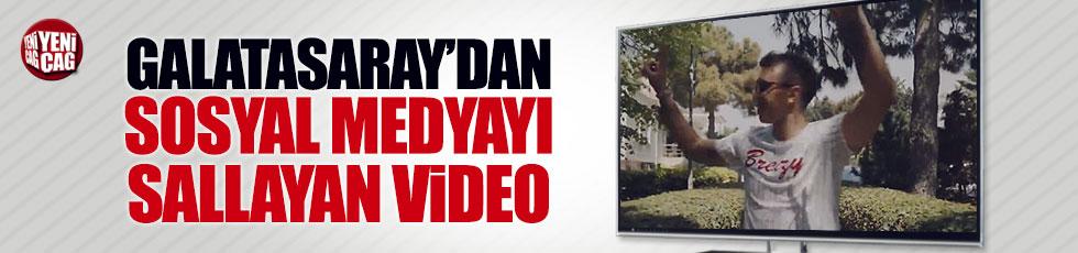 Galatasaray'dan sosyal medyayı sallayan video