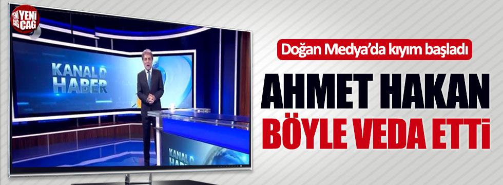 Ahmet Hakan Doğan Grubu'na veda etti