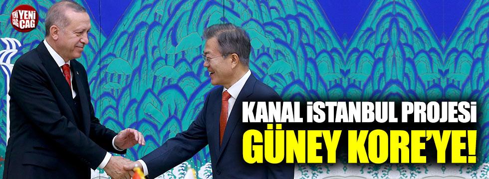 Kanal İstanbul Projesi Güney Kore'ye