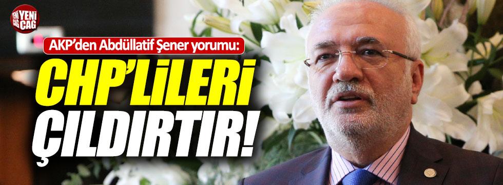 AKP'den Abdüllatif Şener yorumu