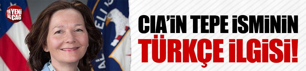 CIA'nın yeni direktörünün Türkçe aşkı!