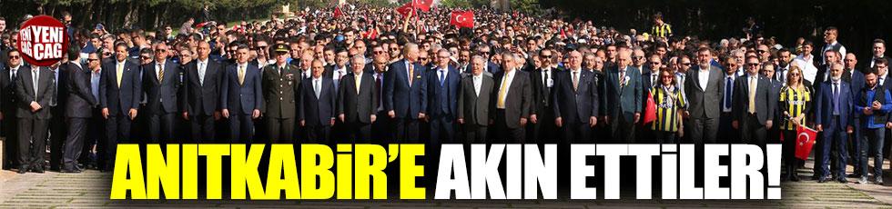 Fenerbahçe, Anıtkabir'e akın etti