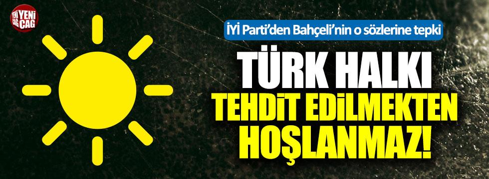 İYİ Parti'den Bahçeli'ye '100.000 imza' tepkisi!