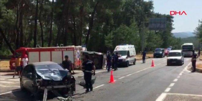 Kemer'de feci kaza: 4 ölü