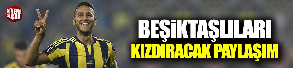 Josef de Souza'dan Beşiktaşlıları kızdıracak paylaşım